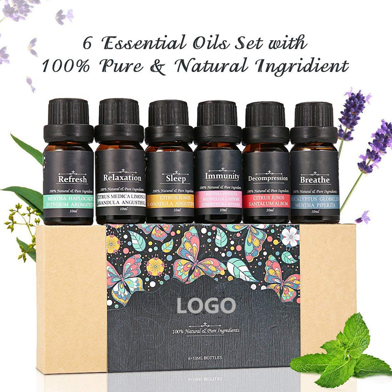 Essential Oil Set 6 pack
