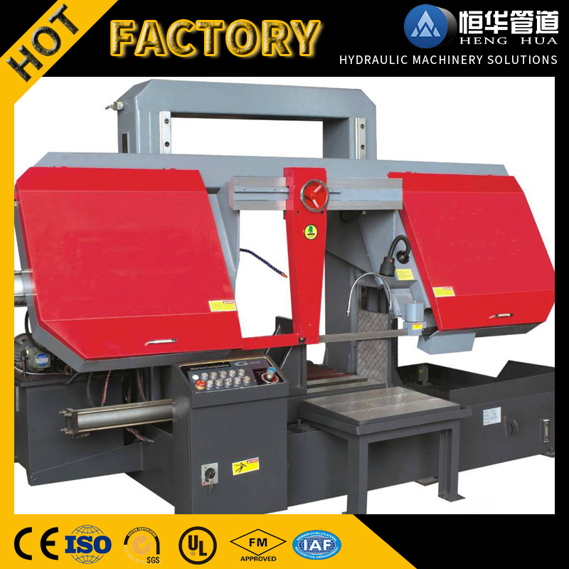 Hot Sale Double Column Metal Band Saw Machine