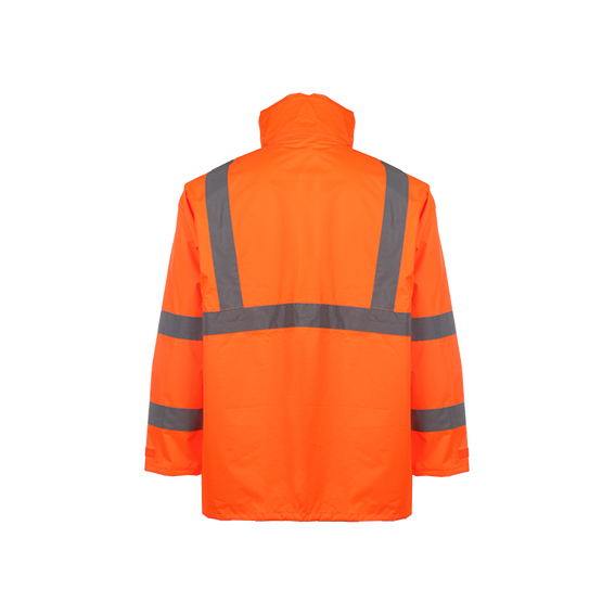 Winter Reflective Safety Rain Coat (ANSI/ISEA107-2010)