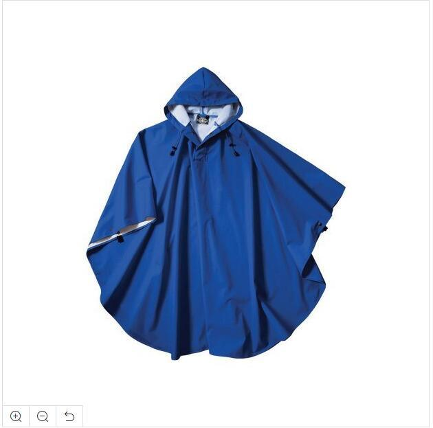 Popular Outdoor Camouflage Rain Poncho Breathable Raincoat