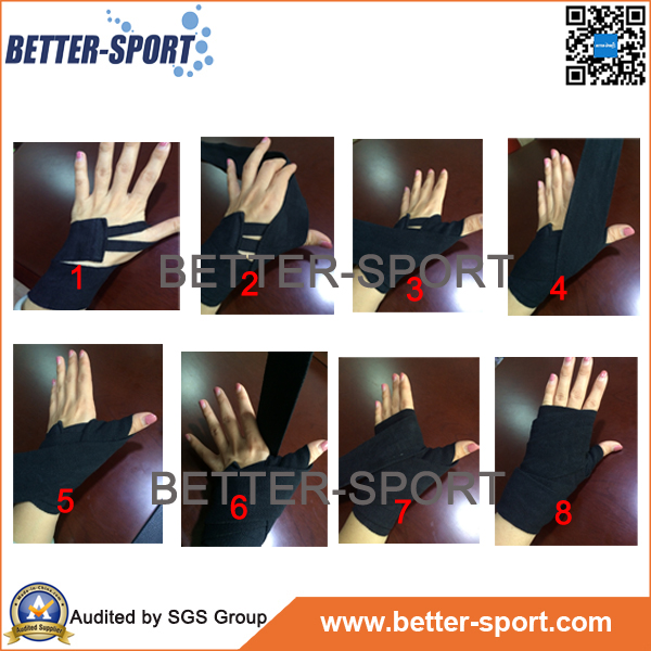 100% Cotton Material Boxing Hand Wraps