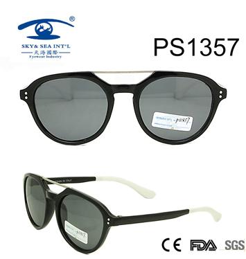 Double Bridge PC Frame Woman Style Sunglasses (PS1357)