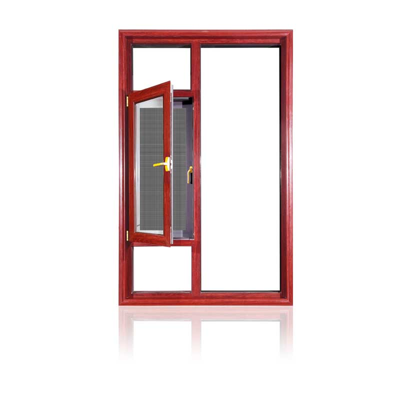 Feelingtop Popular Aluminum Casement Window Powder Coating (FT-W135)