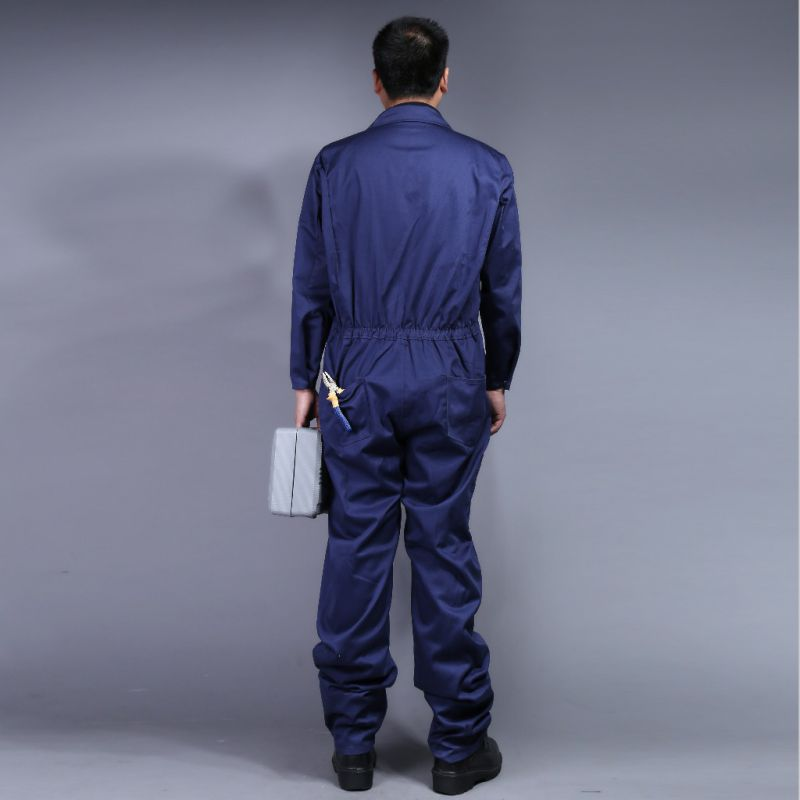 100% Cotton High Quality Cheap Long Sleeve Safety Coverall Workwear (BLY2003)