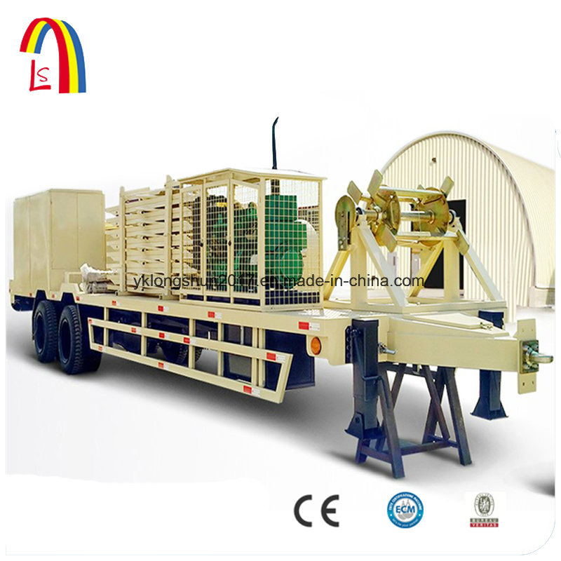 Arch Building Machine Standing Seam Roof Panel Roll Forming Machine