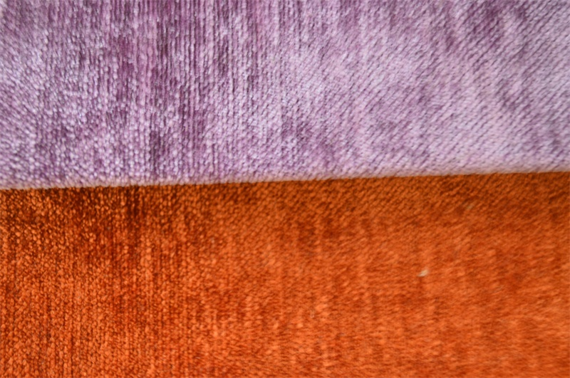 Plain Chenille Fabric for Sofa Packing in Rolls (EDM0223)