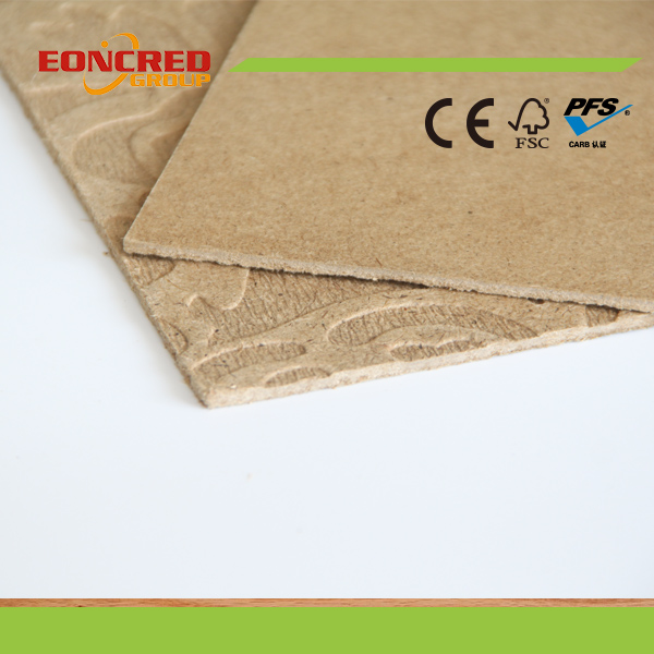Hardboard 1220X2440mm Dark Brown Colour