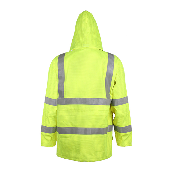 Class 3 En20471 Durable Waterproof Anti-Static Reflective Safety Jacket