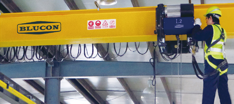 Single Girder Underrunning Bridge Crane