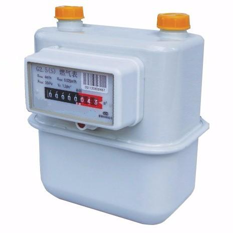 Steel Case Disphragm Gas Meter