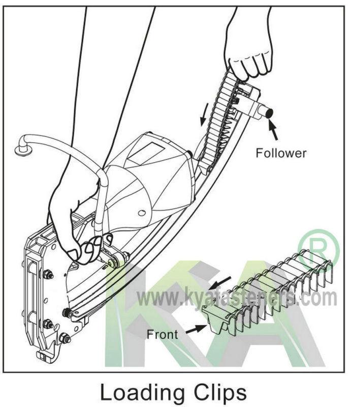 Ccp-32 Roll Mattress Clips