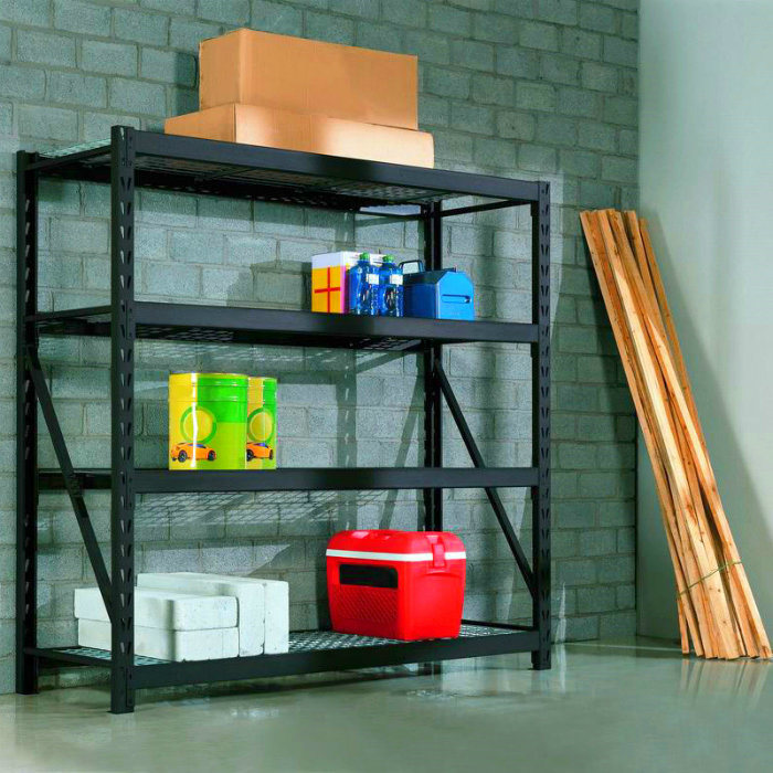 4-Tier Industrial Storage Garage Rack Shelf