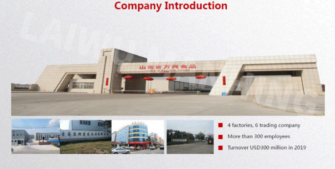 Laiwu Manhing factory
