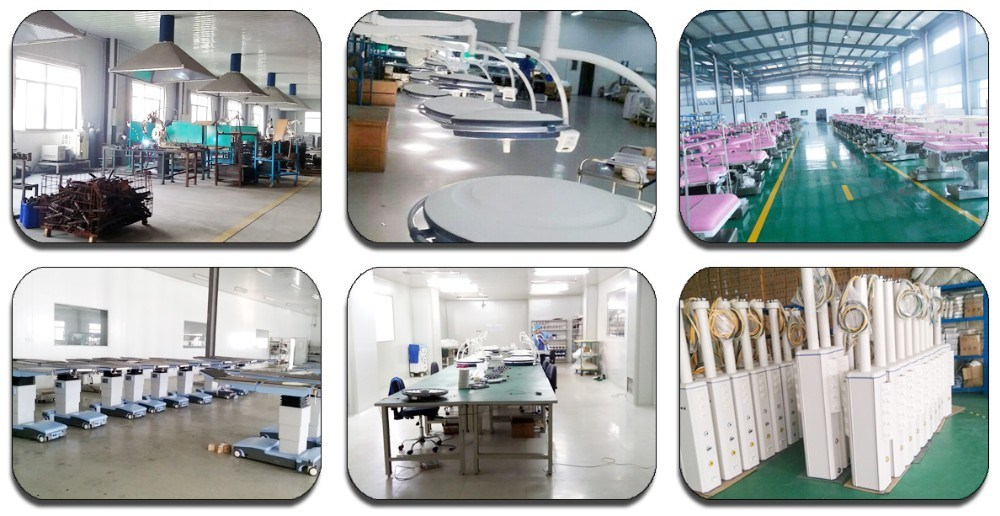 Orthopedic Traction Hospital Bed Manual Bed Patient Medical Bed Manufacture