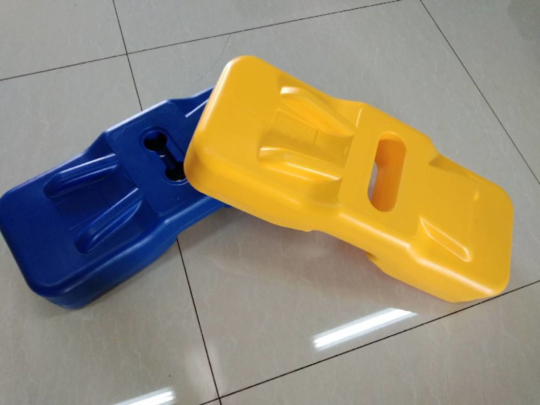 Plastic Fence Foot Support Stand Stainless Steel Base