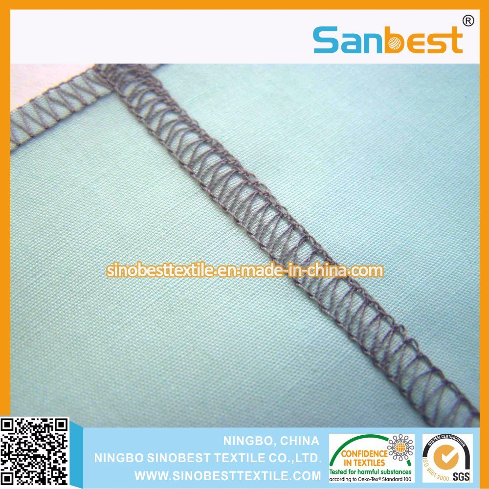 100% Polyester Textured Thread for Overlocking