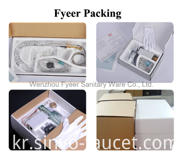 Fyeer Pull out Spray Kitchen Faucet with Water Flow Filter Tap