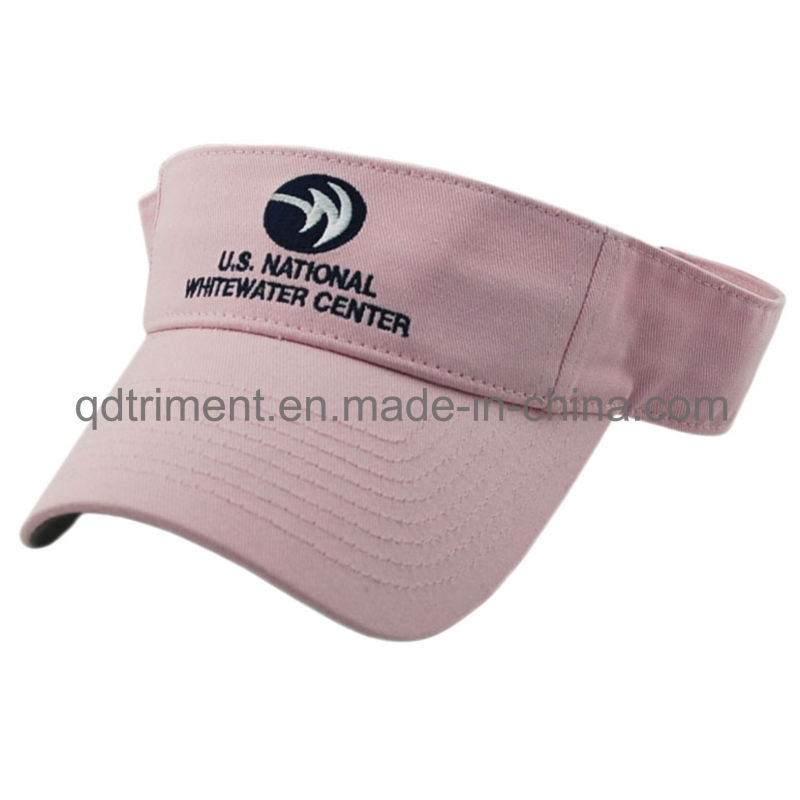 100% Polyester Breathable Fabric Golf Sun Visor Hat (TRNV096)
