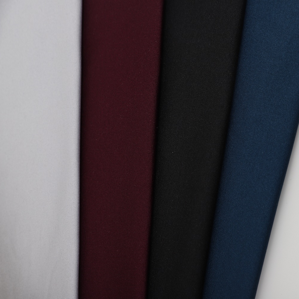 double brushed poly spandex fabric