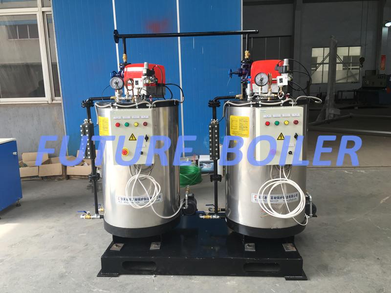 Vertical Watertube Oil (Gas) Fired Steam Boiler for Steam Washer