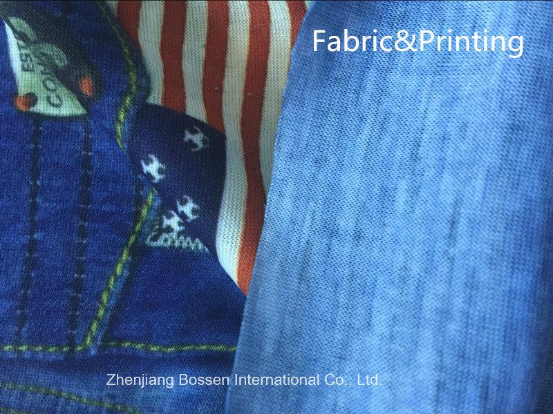 Custom Made Design Denim Style Printed Polyester Promotional Seamless Magic Sports Buff Bandana