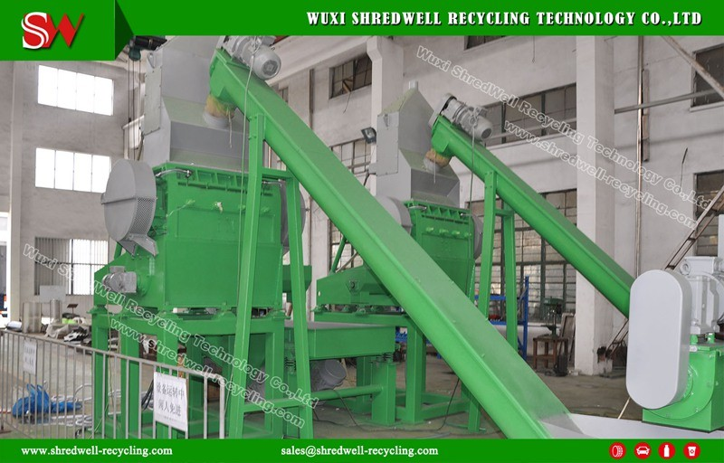 (Rubber Granulator for Producing 1-5mm Crumb) Used/Scrap/Waste Tire Recycling Machine