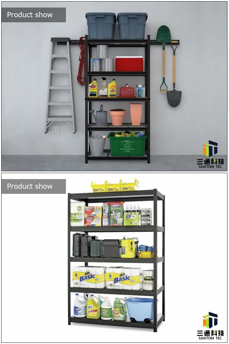 Rivet Lock Boltless Bulk Storage Rack