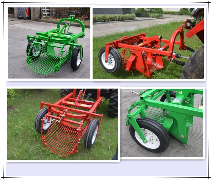 Hot Selling Potato Digger Machine with Pto Shaft Approved Ce Certificates