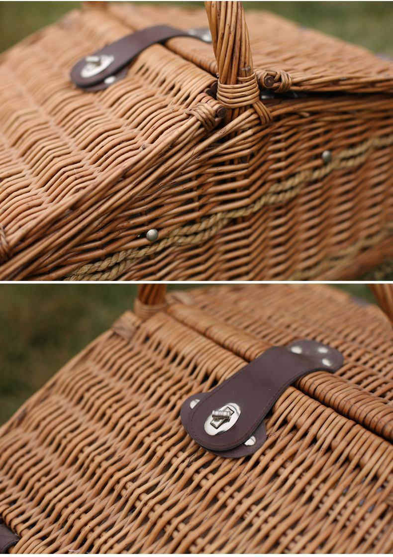 Wholesale High Quality Cheap Decorative Wicker Picnic Basket
