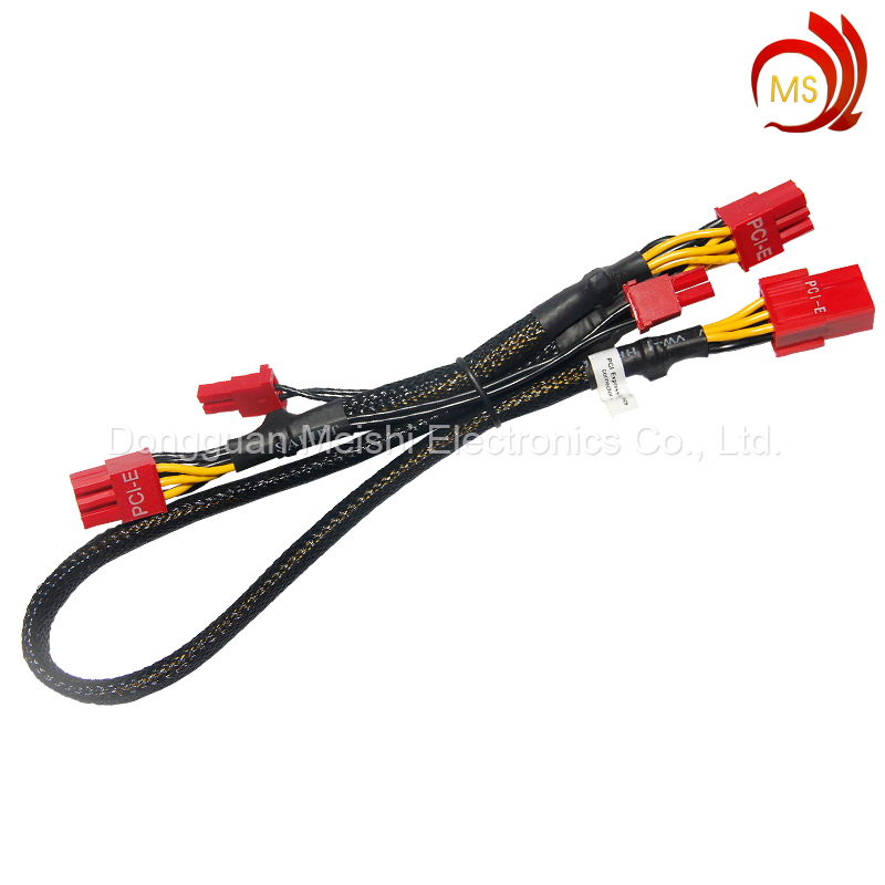 OEM PCI-E Interface Electric Wireharness