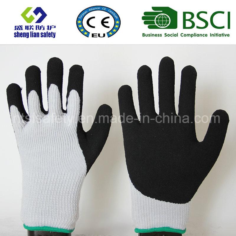 Nitrile Coating, Sandy Finish Safety Work Gloves (SL-NS119)