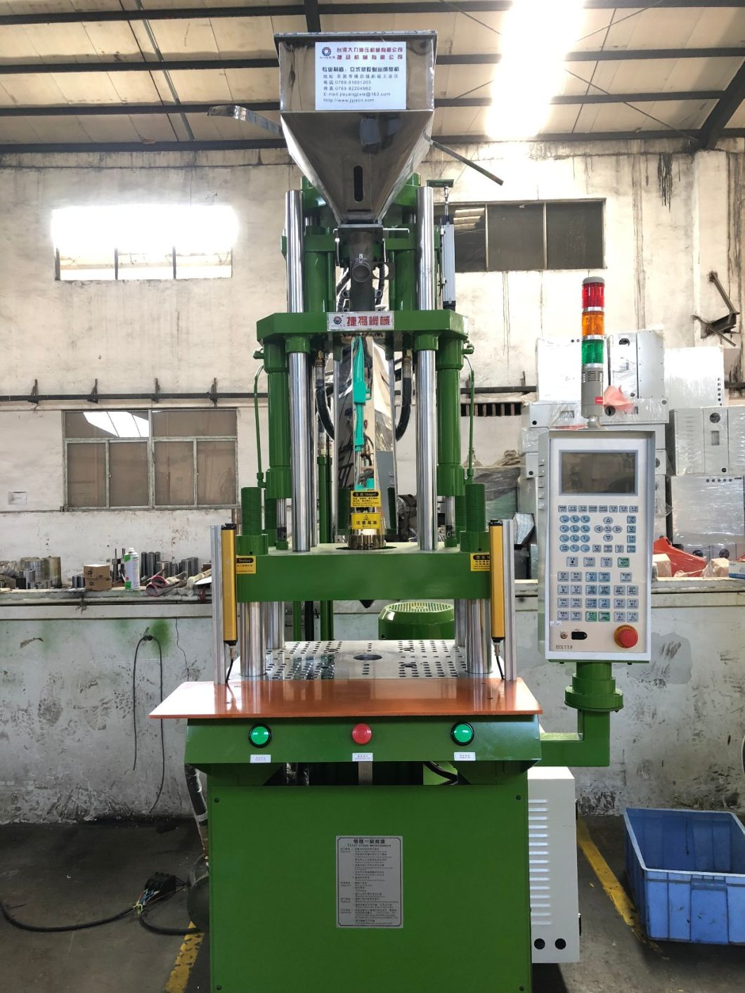 Each Size Hydraulic Small Injection Moulding Machine for Handle Price