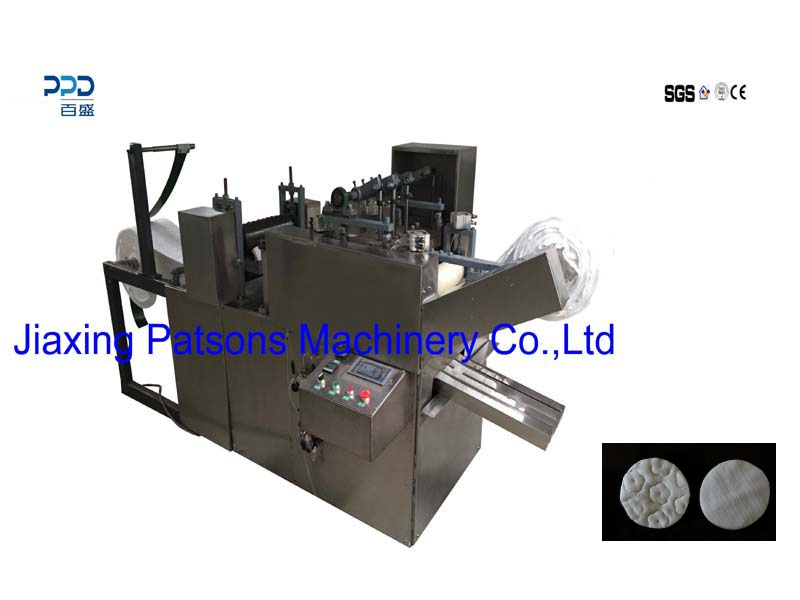 Fully Auto Cosmetic Cotton Pad Making Machine