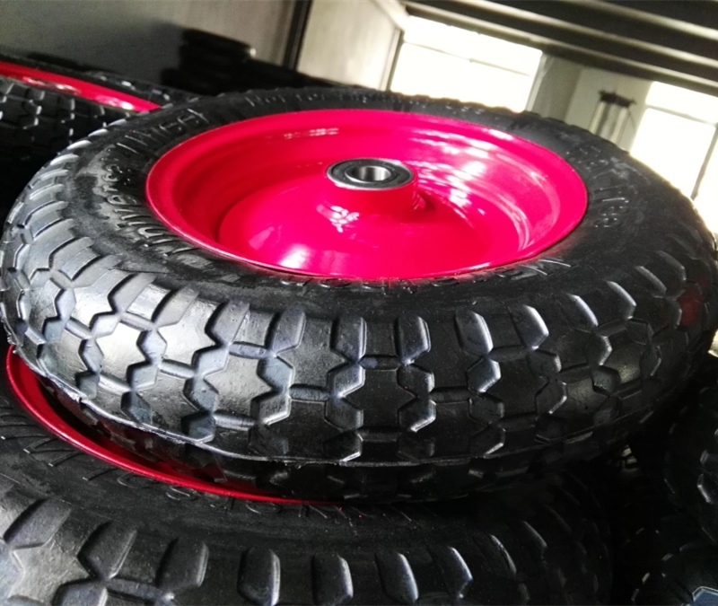 4.00-10 Solid Rubber Foam Wheel for Press Machine