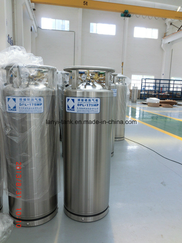 Good Quality Stainless Steel Low-Middle Pressure 3000L Lox, Lin Lar Cryogenic Storage Tank