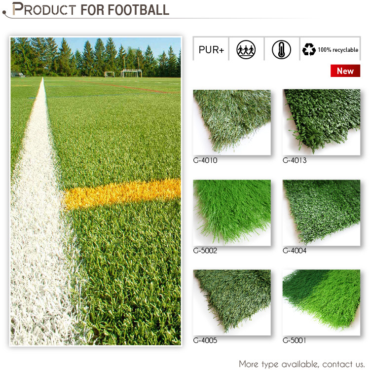 Field Green Soccer Synthetic Turf Sports Grass (G-5002)