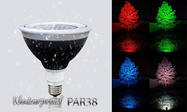 20W/25W Bluetooth Dimming Outdoor Waterproof IP67 LED Lamp PAR38 Light Bulb