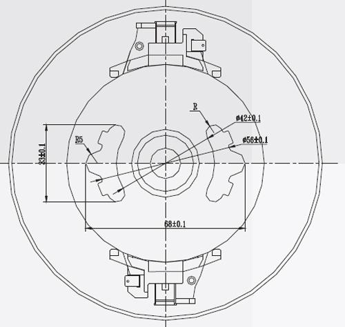 Direct Current Vacuum Cleaner Motor