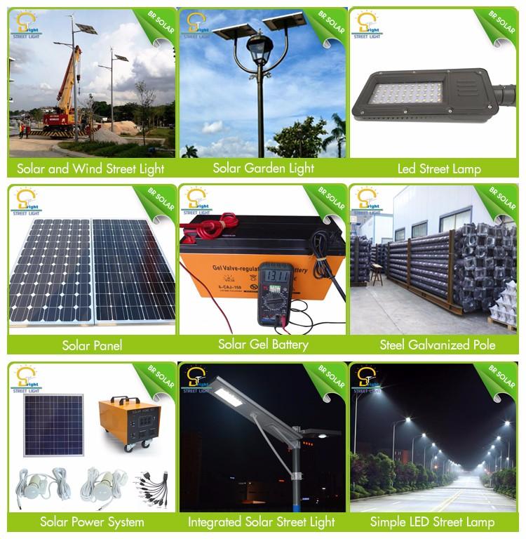 Solar LED Street Light for Africa