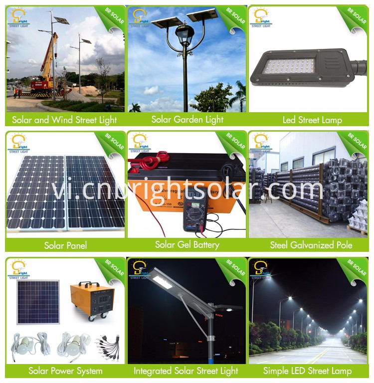 20W-120W Solar Led Street Light