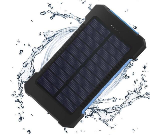 Waterproof Solar Power Bank 20000mAh