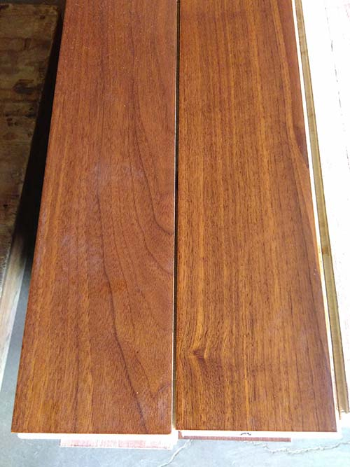 Black American Walnut Engineered Wood Flooring (Multi layer)