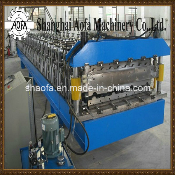 Metal Roof Panel Making Roll Forming Machine (AF-R1100)