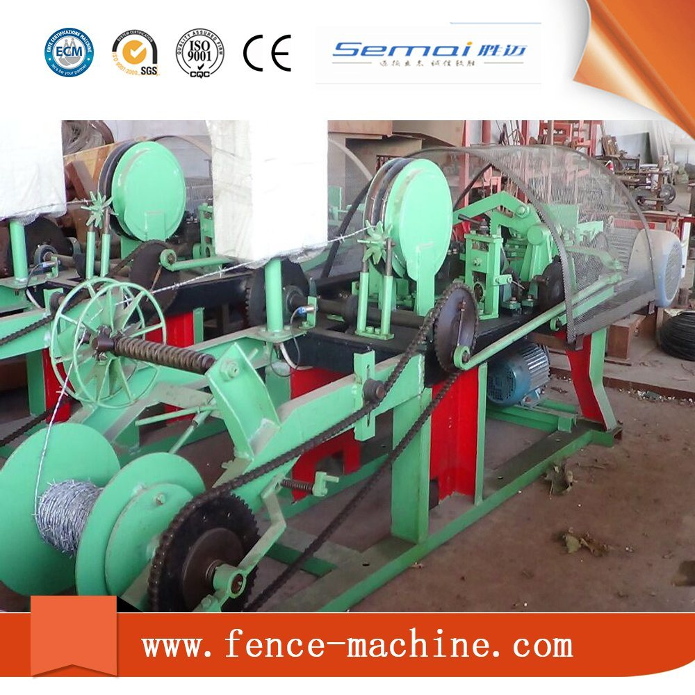 Single Wire Best Price Barbed Wire Machine with Ce