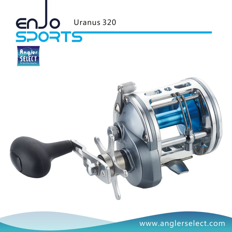 Angler Select Uranus A6061-T6 Aluminium Body 5+1 Bearing Sea Fishing Trolling Reel Fishing Tackle (Uranus 320)