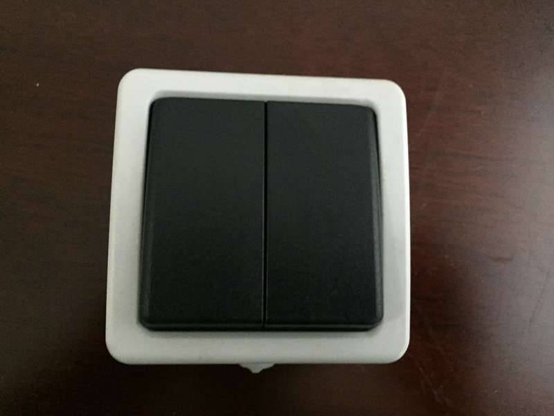 SGS ABS Two Way Wall Switch (IP54)