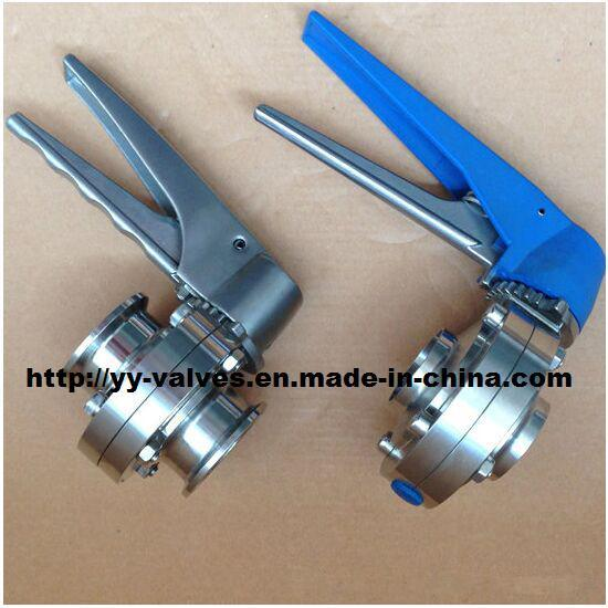 Sanitary Stainless Steel Butterfly Valve (100101)