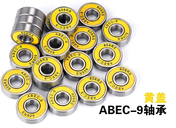 Skateboard Wheel Bearing Chrome Steel Ceramic Deep Groove Ball Needle Roller Bearing