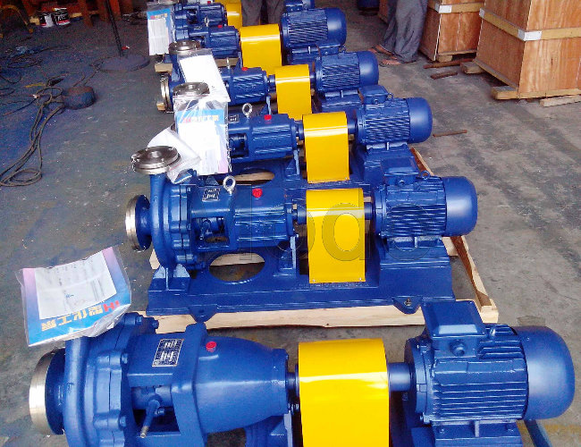 Plastic Centrifugal Single Suction Chemical Process Pump