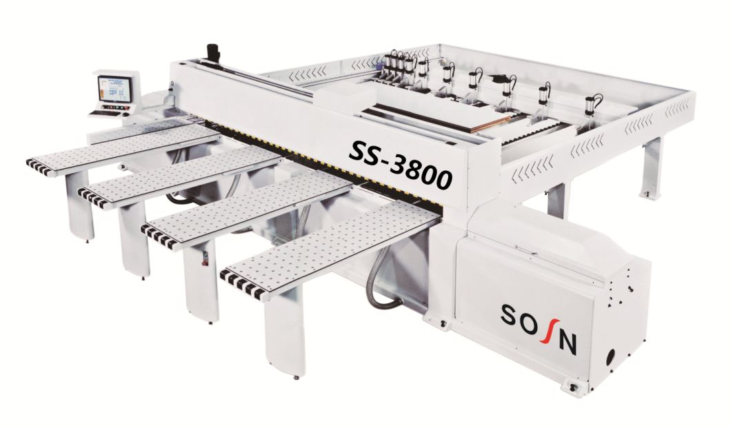 Woodworking High Speed Computer CNC Beam Saw Electronic Panel Saw